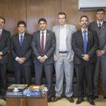 Procuradores de Contas discutem cooperação técnica com ministro da CGU, em Brasília