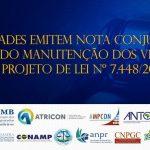 CNPGC pede manutenção de vetos em projeto que limita controle de contas públicas