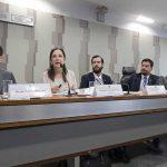 Procuradora-Geral do MPC/DF fala ao Senado sobre obras em creches e pré-escolas