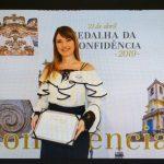 Procuradora-Geral do MPC-MG recebe Medalha de Honra